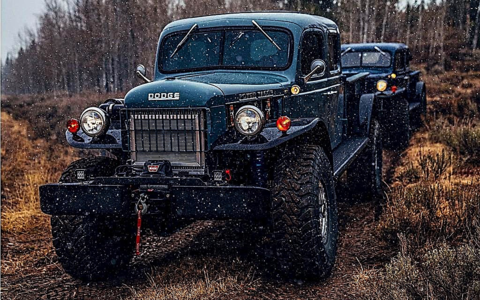 Made to Work: Die Resto-Mod Dodge Power Wagons