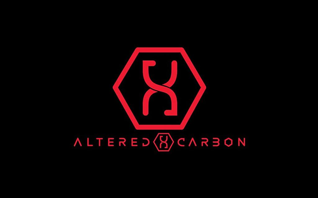 Altered Carbon Helix Logo T-Shirt Bild 3 von 3
