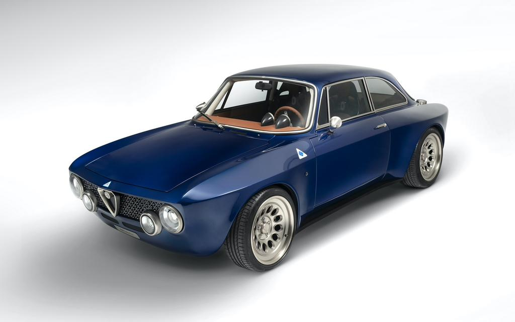 Alfa Romeo Giulia GT Electric Coupe Image 6 from 8
