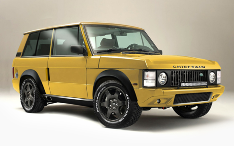 Restomod Range Rover Classic 700HP V8 Supercharged