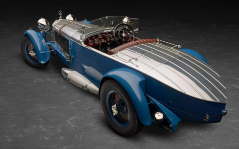 "1929 Mercedes-Benz S Barker ""Boat Tail"""